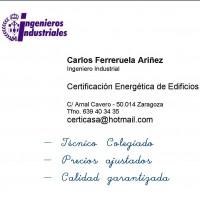 Certificados Eficiencia Energética. Carlos Ferreruela